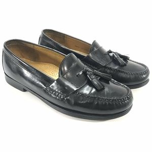 Cole Haan Pinch Tassel Moc Toe Slip On Loafers